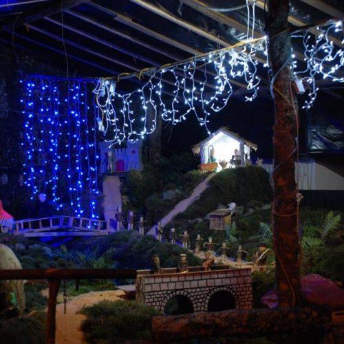 Presépio artesanal anima o Natal em Vila Franca da Beira