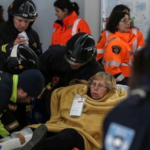"""""""Forte embate"""" de embarcação à entrada do cais causou 34 feridos em Lisboa"""