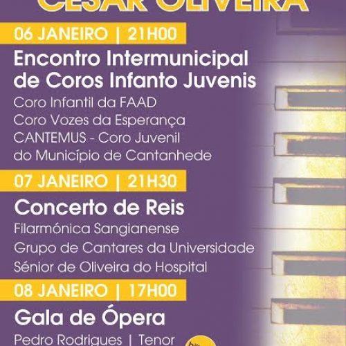 """Espetáculos marcam fim de semana de """"Reis"""" em Oliveira do Hospital"""