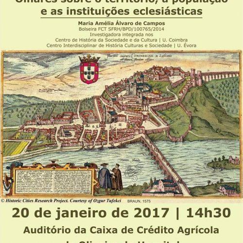 Coimbra na Idade  Média é tema de conferência em Oliveira do Hospital