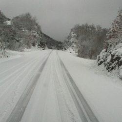 Estradas na Serra da Estrela reabriram às 12h00