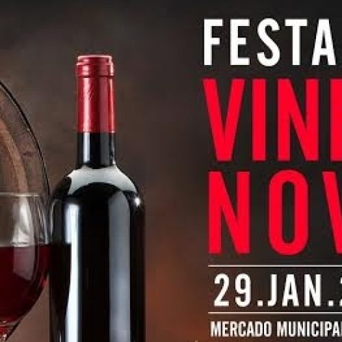 Festa do Vinho Novo no Mercado Municipal de Tábua