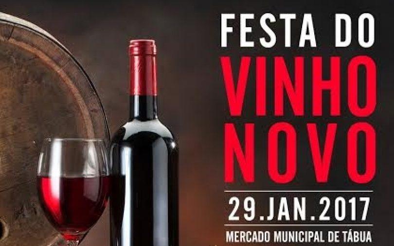 Festa do Vinho Novo no Mercado Municipal de Tábua
