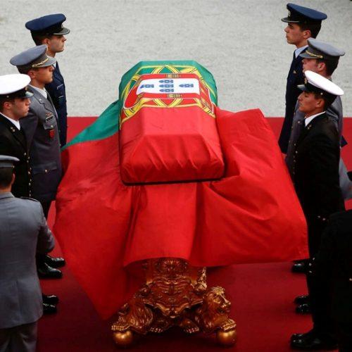 Funeral de Mário Soares realizou-se esta tarde