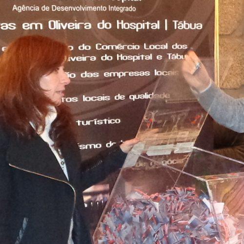 Lojistas e clientes premiados em Oliveira do Hospital
