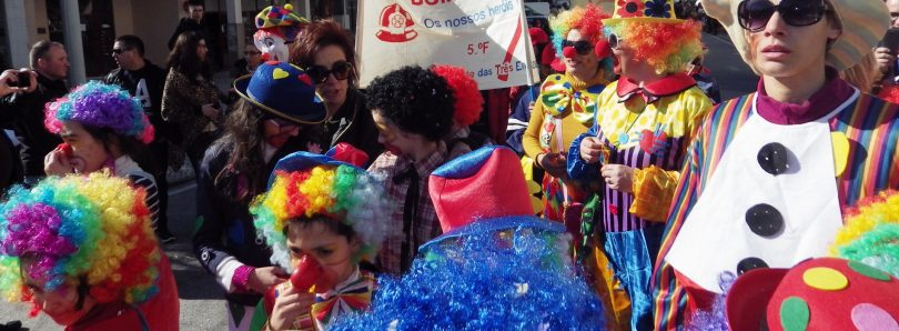 Mais de 1500 figurantes dão vida ao Carnaval do Agrupamento de Escolas de Oliveira do Hospital