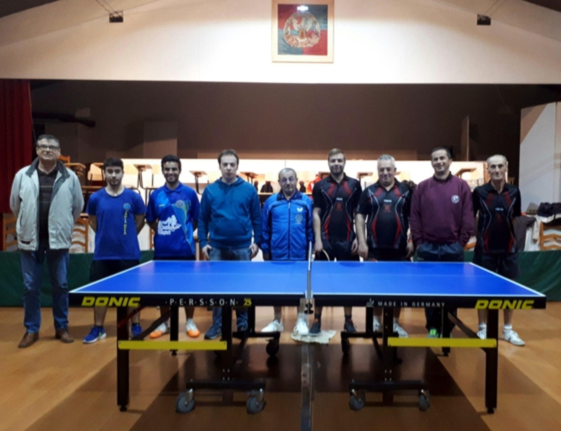 Ténis de Mesa: derrota em Seia mantém CCPOH no 9º no campeonato nacional
