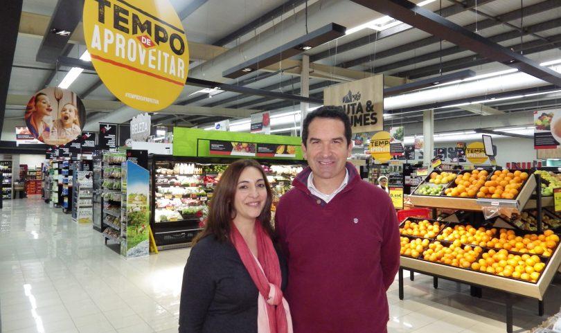Jorge e Cidália dão 'vida nova' ao Intermarché de Oliveira do Hospital