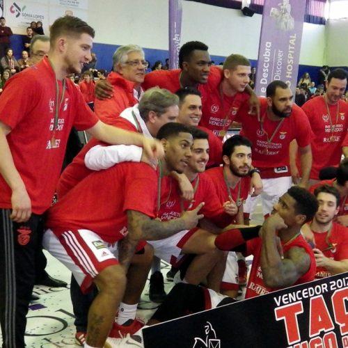 SL Benfica vence Taça Hugo dos Santos em Basquetebol