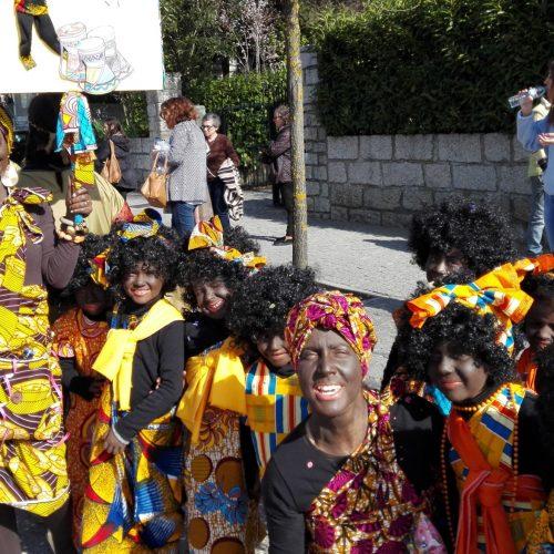 Carnaval do Agrupamento de Escolas encheu de alegria e cor a cidade de Oliveira do Hospital