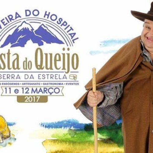Apresentador Fernando Mendes volta a apadrinhar Festa do Queijo Serra da Estrela de Oliveira do Hospital