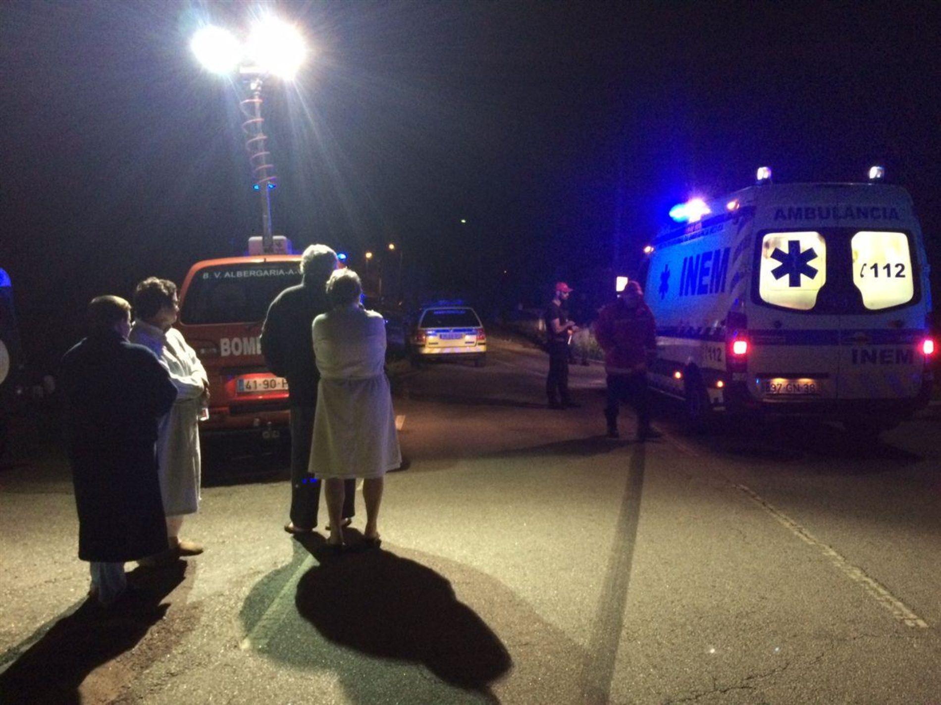 Despiste em perseguição policial provoca quatro feridos
