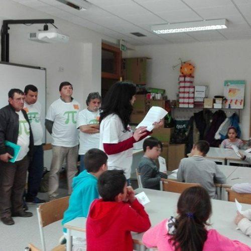 """Formandos do IEFP comemoraram o """"Dia do PI"""" com alunos da EB1 de Arganil"""