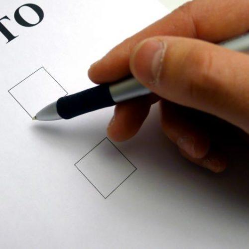 Atualização do recenseamento eleitoral suspensa a partir de hoje