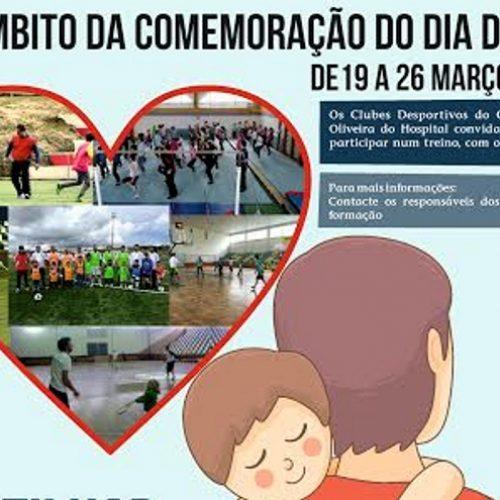 """Oliveira do Hospital promove """"Pai, vem treinar comigo"""""""