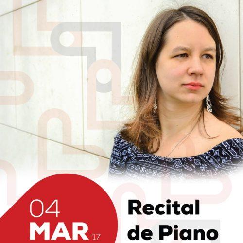 Concerto com pianista Taíssa Poliakova na Casa da Cultura César Oliveira