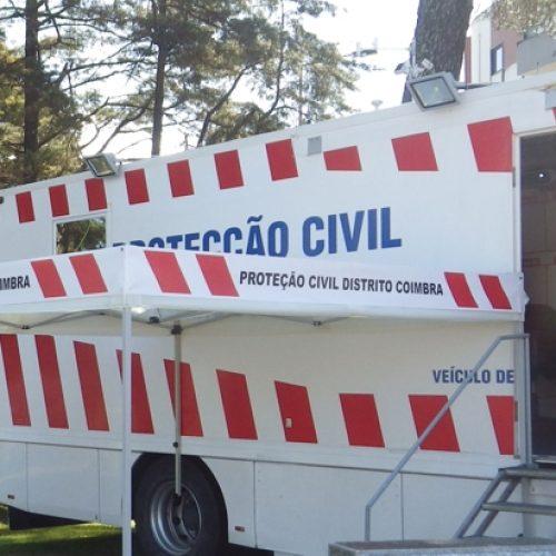 Proteção Civil apresenta Dispositivo Especial de Combate a Incêndios Florestais em Foz de Arouce