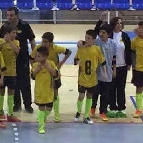 ABC de Nelas sagra-se Campeão Distrital de Futsal de Infantis da AF de Viseu 2016/2017