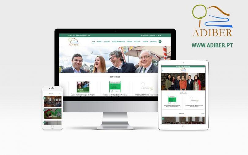 ADIBER aposta em site mais apelativo e funcional