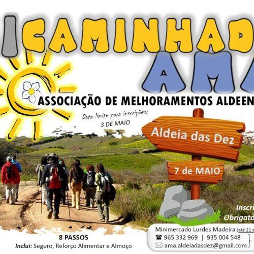 Associação Al-deia promove caminhada em Aldeia das Dez