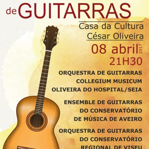 Concerto de Orquestras de Guitarra em Oliveira do Hospital