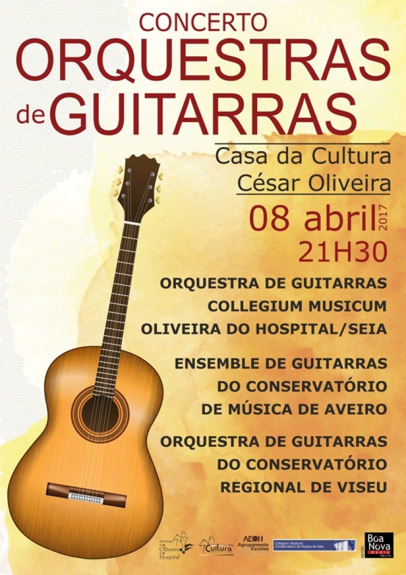 Concerto de Orquestras de Guitarra em Oliveira do Hospital