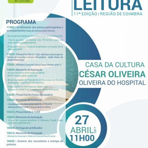 Oliveira do Hospital acolhe fase regional do Concurso Nacional de Leitura