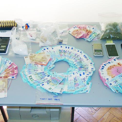 PJ deteve quatro suspeitos de tráfico em Coimbra e Lousã