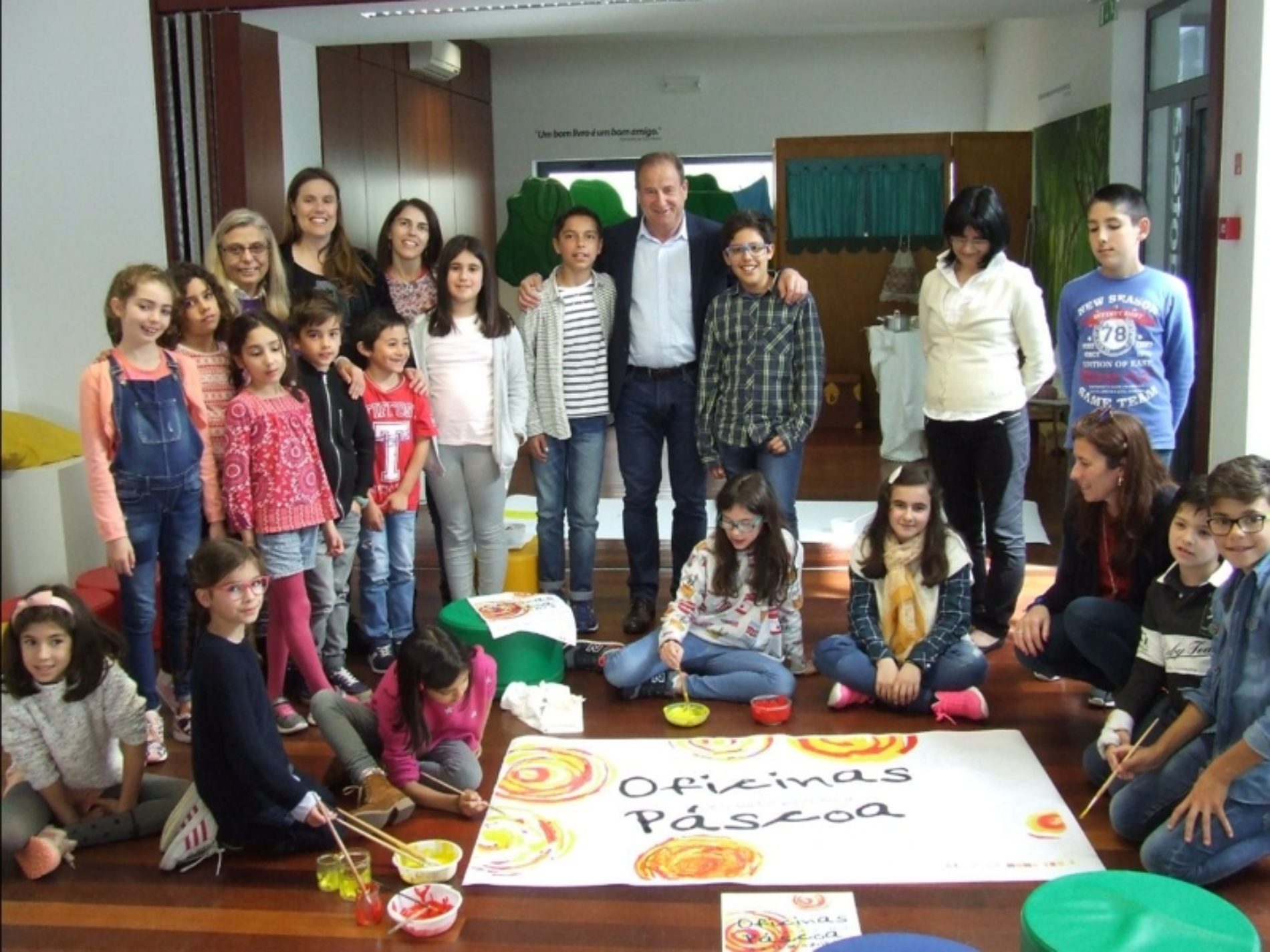 Oficinas Criativas das Férias da Páscoa já iniciaram em Oliveira do Hospital
