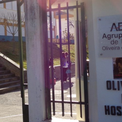 Greve de professores fecha EB1 da cidade de Oliveira do Hospital