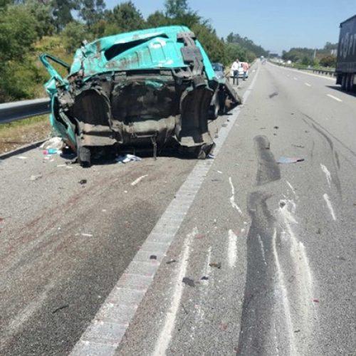 Colisão entre carro e camião provoca um morto em Aveiro
