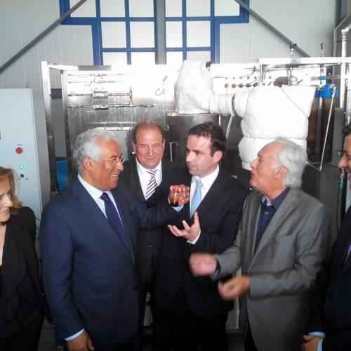 António Costa inaugurou o BLC3 e garantiu reunir condições para construção do IC6