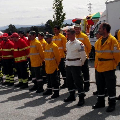 Simulacro testou meios de combate aos incêndios florestais em Oliveira do Hospital (Com vídeo)