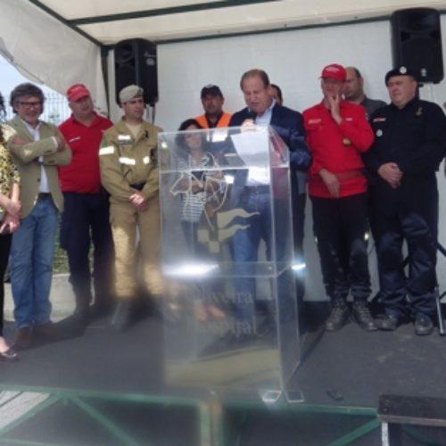 CIM da Região de Coimbra e Proteção Civil apresentam dispositivo de combate a incêndios