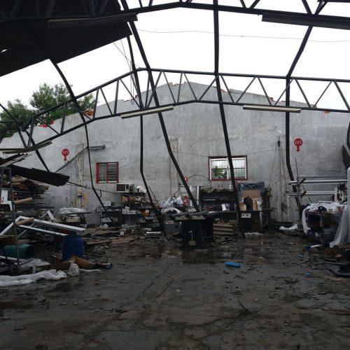 Ventos fortes provocaram estragos em habitações em Pombal e Aveiro