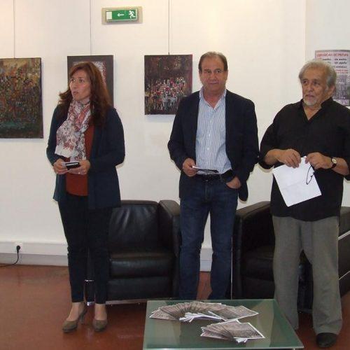 Álvaro Assunção expõe pintura na Casa da Cultura César Oliveira