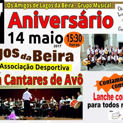 Grupo musical de Lagos da Beira comemora aniversário