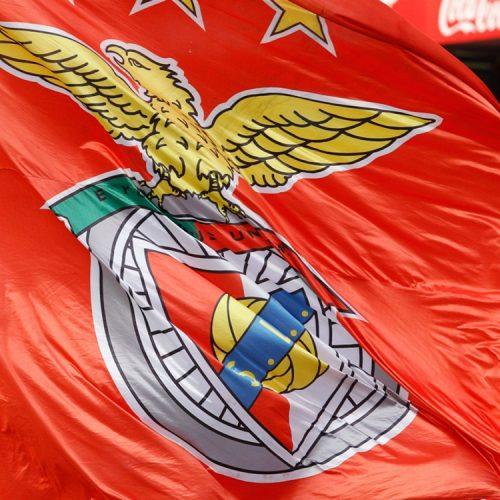 Benfica faz a festa do tetra na Luz perante os seus adeptos
