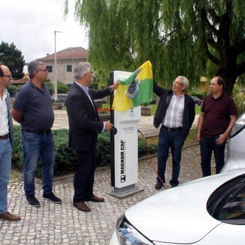 Tábua inaugurou Posto de Carregamento de Veículos Elétricos