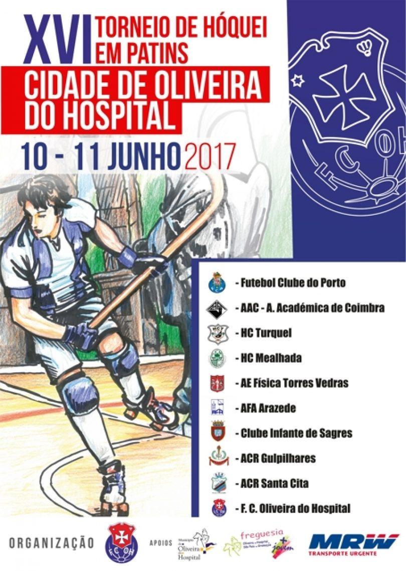 XVI Torneio de Hóquei em Patins Cidade Oliveira do Hospital é já este fim de semana