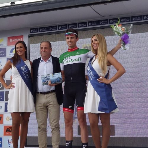 Cyril Barthe venceu 1ª etapa da Volta Liberty Seguros em Oliveira do Hospital