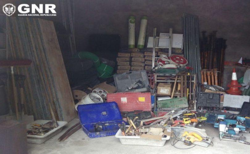 GNR deteve suspeito de furtos em obras de construção em Oliveira do Hospital