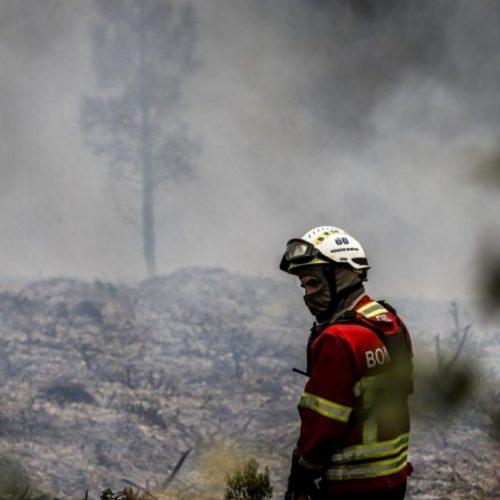Cinco bombeiros ficaram feridos em acidente em Arganil
