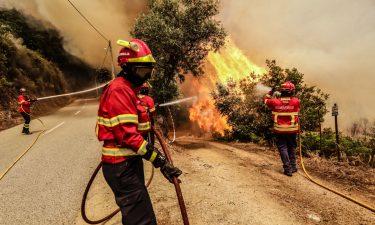 Incêndio Tabuaço: 229 operacionais apoiados por seis meios aéreos