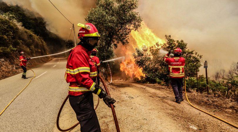 GNR já deteve 100 pessoas por crime de incêndio este ano