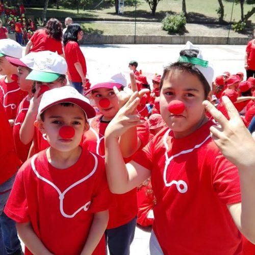 Crianças comemoraram Dia da Criança e dia do Nariz Vermelho em Oliveira do Hospital (com vídeo)