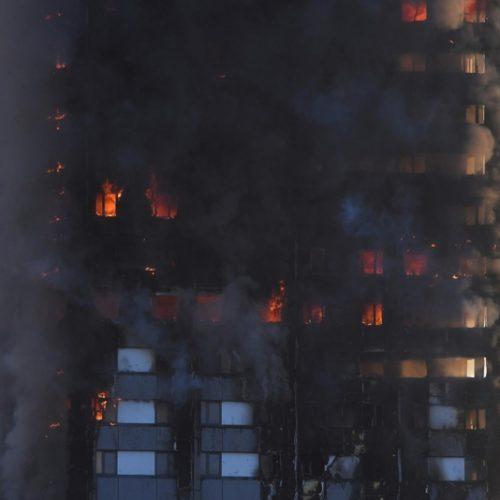 Mundo: Várias famílias portuguesas viviam em prédio que se incendiou em Londres