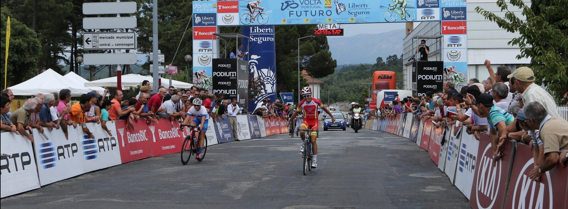 """Alexandrino diz que chegada da Volta do Futuro é """"estratégia de marketing"""" e apela aos oliveirenses para que apoiem os jovens ciclistas"""