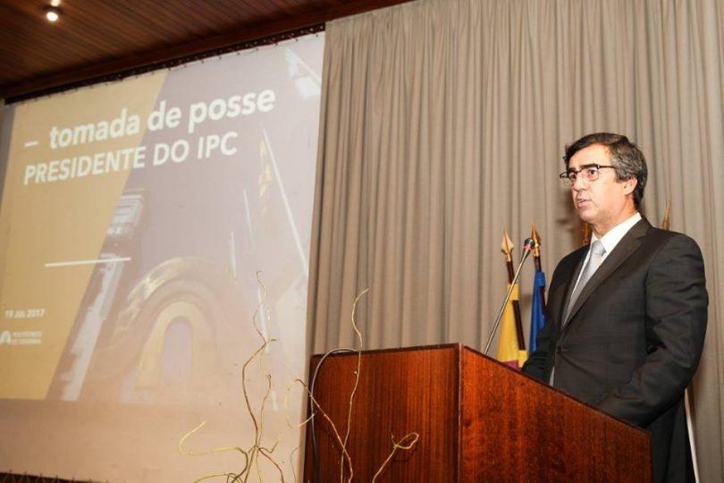 Jorge Conde tomou posse na presidência do Politécnico de Coimbra