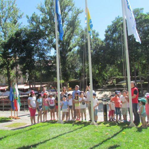 Góis hasteou bandeira azul em duas praias fluviais e espera atrair muitos turistas